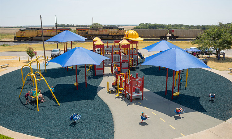 A great way to bring the community together – build a playground!