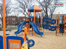 Chicago Parks District Installs 11 New Burke Playgrounds!