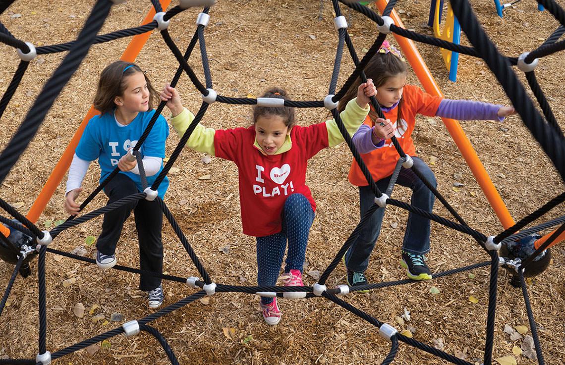 Ropeventure Vertex Playground Climber