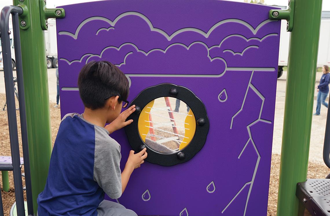 Rain Wheel Panel