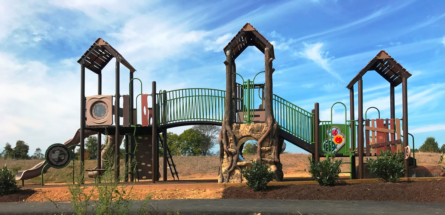 Apartment Community Playground Equipment