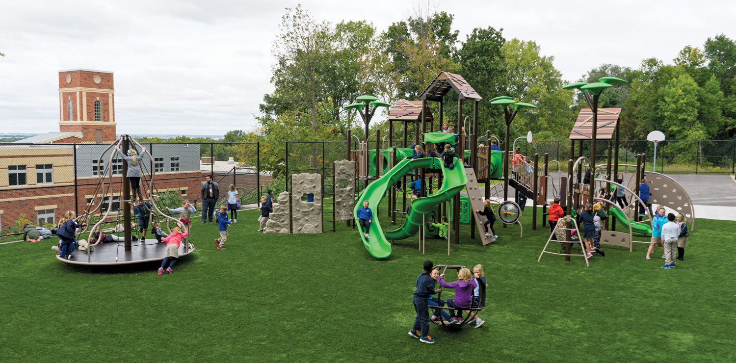 BCI Burke Playground Equipment for schools