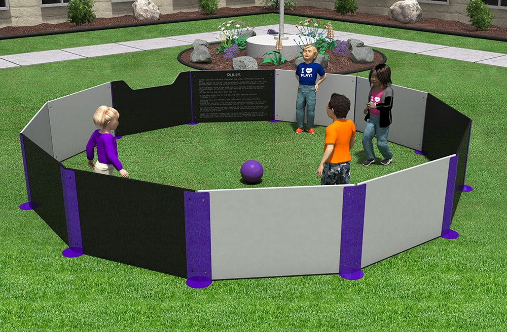 Gaga Ball Pit with Rules