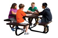 Traditional Series Sit-A-Round Table