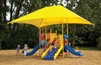 Rectangle 15' x 21' ShadePlay Canopy