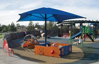Single Post Square 12' x 12' ShadePlay Canopy