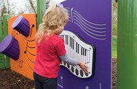 Touch & Play Piano Panel