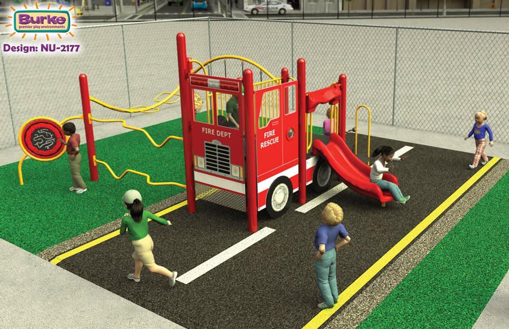 Nucleus NUIN-2177 Fire Truck